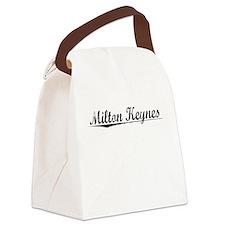 Milton Keynes, Aged, Canvas Lunch Bag