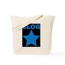 Blog Star Blue - Mommy Blog - Daddy Blog Tote Bag