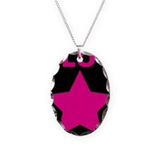 Blog Star Pink - Mommy Blog - Daddy Blog Necklace
