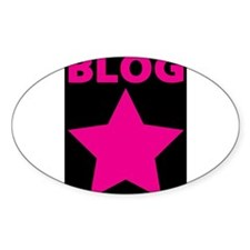 Blog Star Pink - Mommy Blog - Daddy Blog Decal