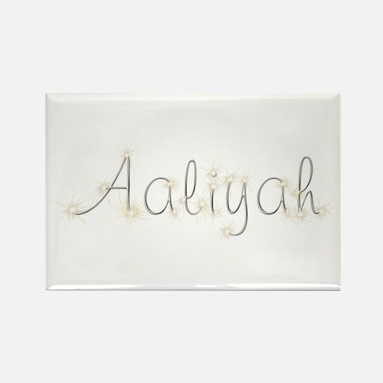 Aaliyah Spark Rectangle Magnet
