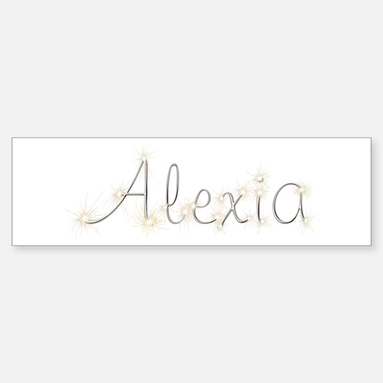 Alexia Spark Bumper Car Car Sticker