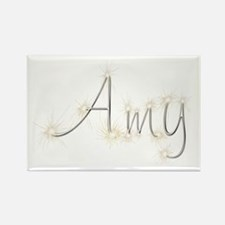 Amy Spark Rectangle Magnet