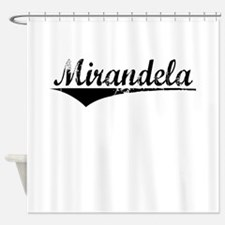 Mirandela, Aged, Shower Curtain