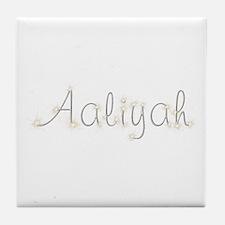 Aaliyah Spark Tile Coaster