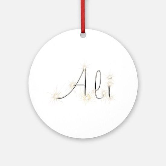 Ali Spark Round Ornament