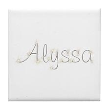 Alyssa Spark Tile Coaster