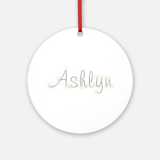 Ashlyn Spark Round Ornament