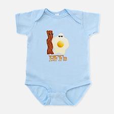 BFF - Bacon Egg Infant Bodysuit