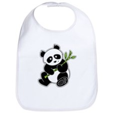 Sitting Panda Bear Bib