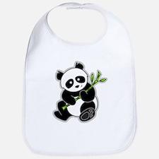 Sitting Panda Bear Bib