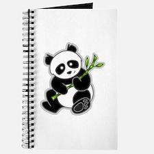 Sitting Panda Bear Journal