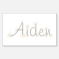 Aiden Spark Rectangle Decal