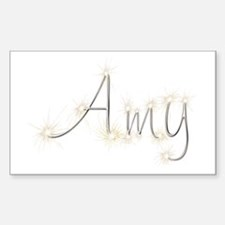 Amy Spark Rectangle Decal