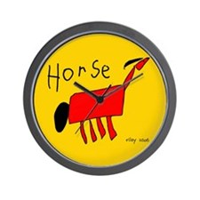 Riley's Horse Wall Clock