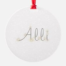 Alli Spark Ornament