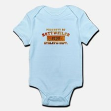 Personalized Prop of Rottweiler Infant Bodysuit
