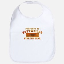 Personalized Prop of Rottweiler Bib