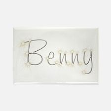 Benny Spark Rectangle Magnet