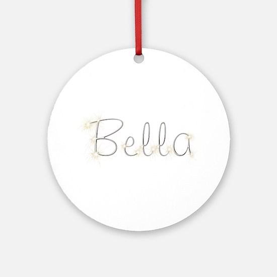 Bella Spark Round Ornament