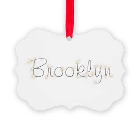 Brooklyn Spark Picture Ornament