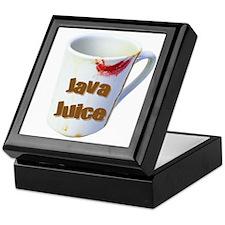 Java Juice 4 Keepsake Box