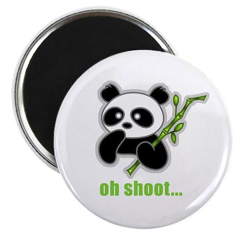Oh Shoot! Panda Magnet