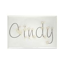 Cindy Spark Rectangle Magnet