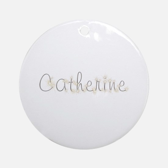 Catherine Spark Round Ornament