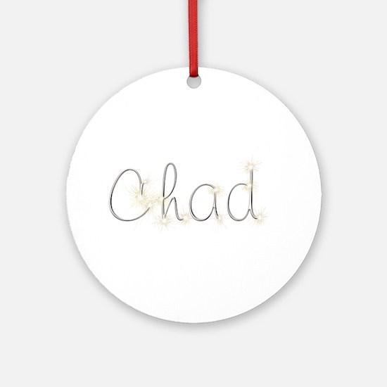Chad Spark Round Ornament
