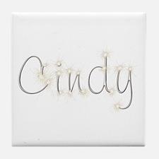 Cindy Spark Tile Coaster