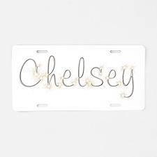 Chelsey Spark Aluminum License Plate