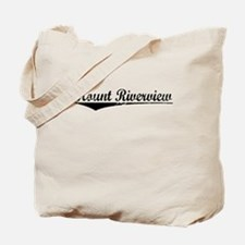 Mount Riverview, Aged, Tote Bag