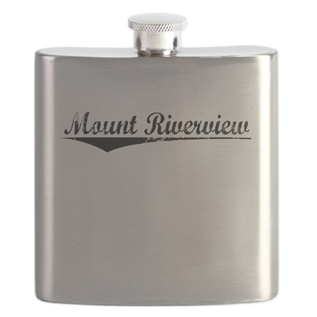 Mount Riverview, Aged, Flask