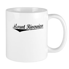 Mount Riverview, Aged, Mug