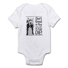 Pit Bulls: Don't Breed Infant Creeper