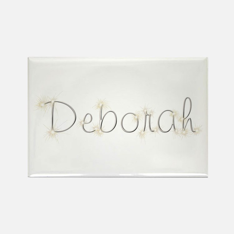 Deborah Spark Rectangle Magnet