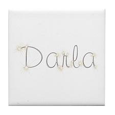 Darla Spark Tile Coaster