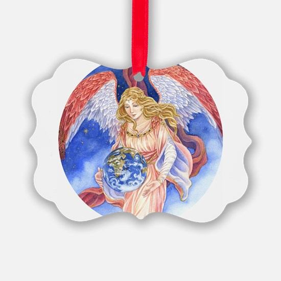 Cute Snow angel Ornament