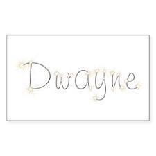 Dwayne Spark Rectangle Decal
