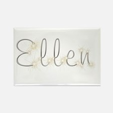 Ellen Spark Rectangle Magnet