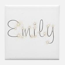 Emily Spark Tile Coaster