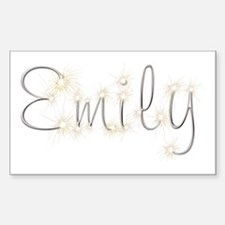 Emily Spark Rectangle Decal