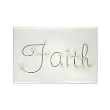 Faith Spark Rectangle Magnet