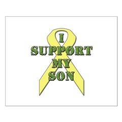 I Support My Son Posters