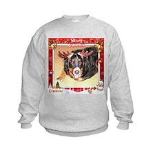 Berner Xmas, frame 4 Sweatshirt