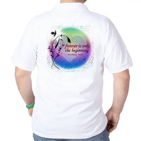 Twilight Breaking Dawn Forever Golf Shirt