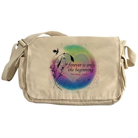 Twilight Breaking Dawn Forever Messenger Bag