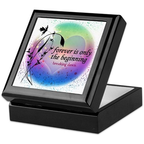Twilight Breaking Dawn Forever Keepsake Box