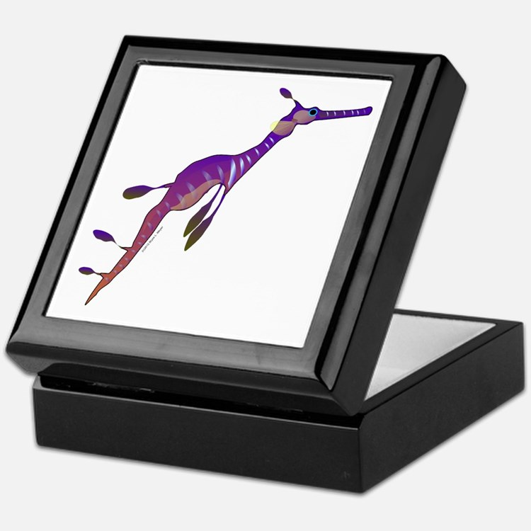 Weedy Sea Dragon fish Keepsake Box